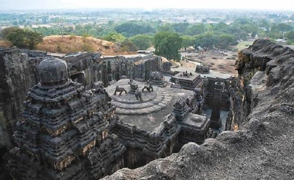 Ajanta Caves (Location- Maharashtra), pilgrimage site