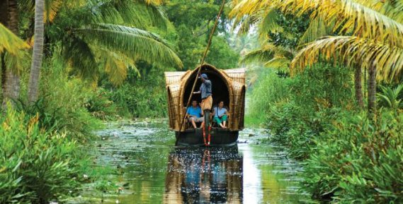 Sail on the backwaters of Kerala