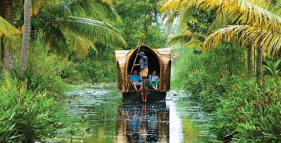 Sail on the backwaters of Kerala