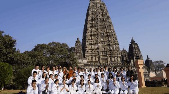 Mahabodhi Temple (Location- Bihar), pilgrimage site