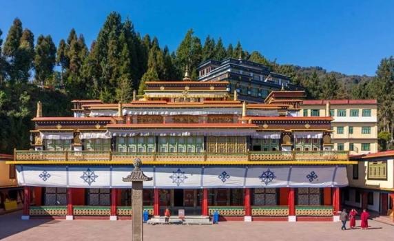 Rumtek Monastery (Location- Sikkim), pilgrimage site