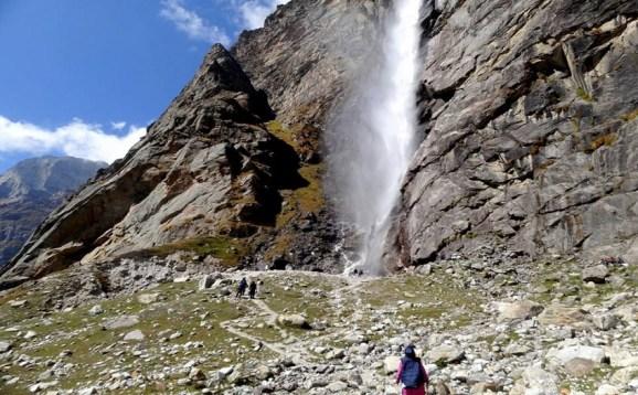 Vasudhara falls near Badrinath