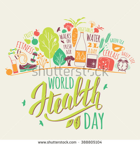 World health day, for healthy living