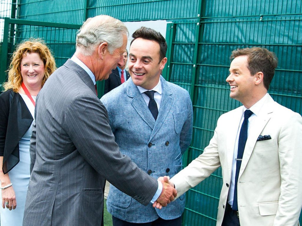 Ant and Dec meet Prince Charles in Newcastle