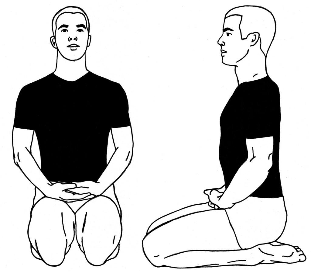 Vajrasana, yoga