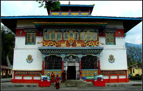 Lachung Monastery, Sikkim