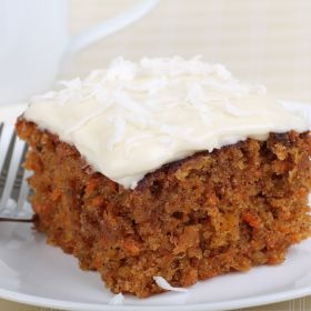 Carrot Cake with Cream Cheese Icing, New Zealand food