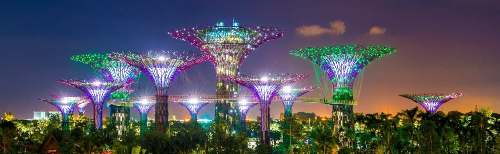 Gardens by the bay, best places in Singapore