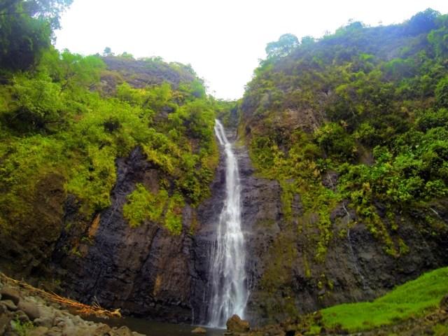 tahiti's waterfall valley