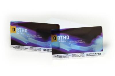 Clear Orthopedic Plastic Business Card