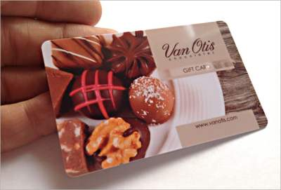 Bakery gift card by Best Plastic Cards