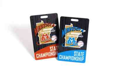 Minnesota Baseball State Championships Plastic ID Card