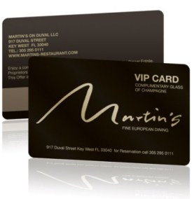 Plastic VIP Card by Best Plastic Cards
