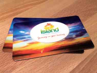 yogurt shop gift card by Best Plastic Cards