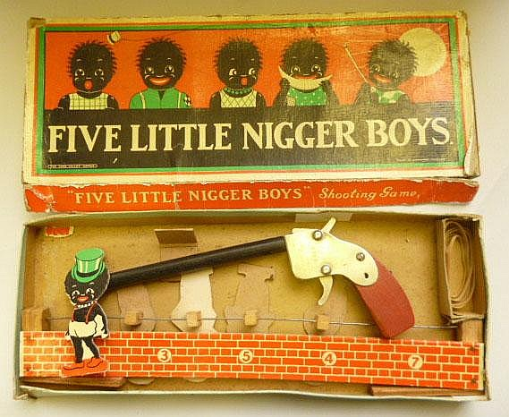 five little nigger boys