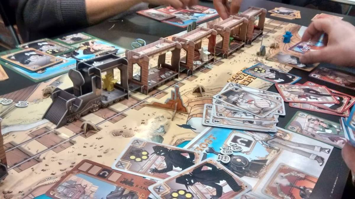 Colt Express Rail road