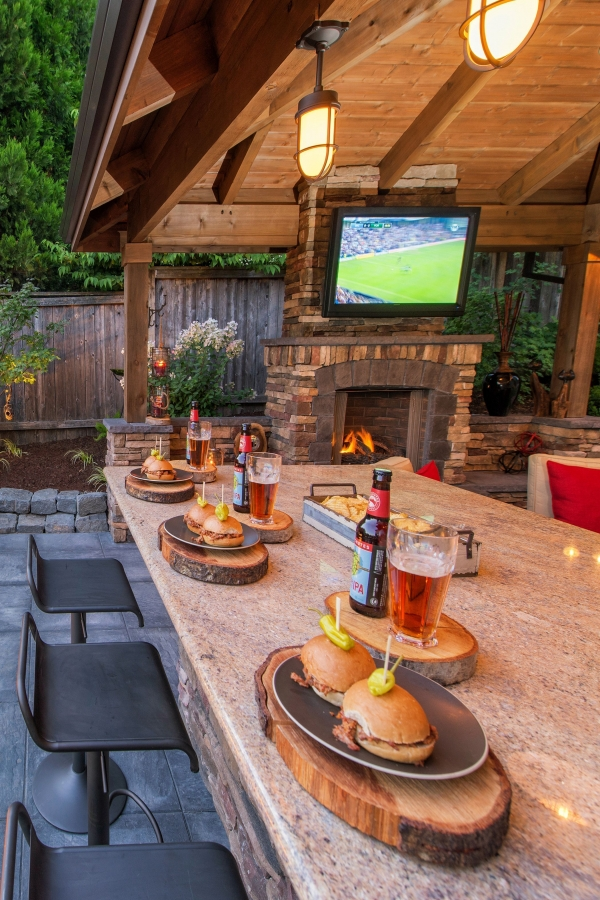 53 gorgeous outdoor kitchen cabinets 11