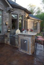 53 gorgeous outdoor kitchen cabinets 42