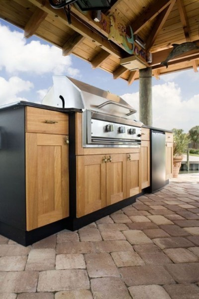 53 gorgeous outdoor kitchen cabinets 8