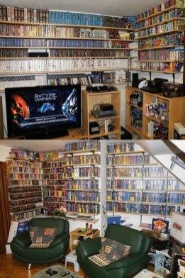 73 Most Popular Video Game Room Furniture Decor-933