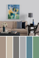80 Most Popular Cozy Living Room Colors - Five (5) Tips to Create A Perfectly Casual It-53