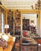 80 Most Popular Cozy Living Room Colors - Five (5) Tips to Create A Perfectly Casual It-89