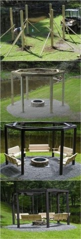 24 Backyard Fire Pit Ideas Landscaping Create A Relaxing Retreat With A Beautiful Firepit 15