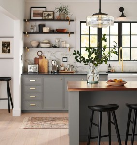 35 Kitchen Shelves Ideas That Make Your Kitchen Look Neat Tips On How To Choose The Right Unit 12