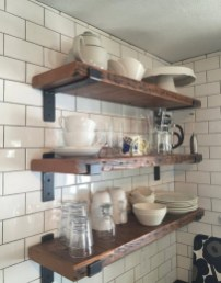 35 Kitchen Shelves Ideas That Make Your Kitchen Look Neat Tips On How To Choose The Right Unit 20