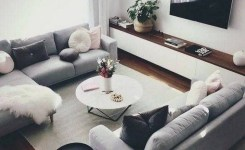 38 Most Popular Modern Living Room Decoration Ideas That Look Comfortable 24