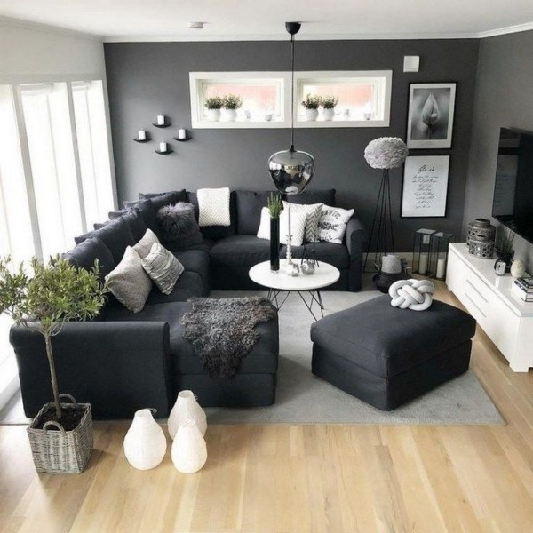 38 Most Popular Modern Living Room Decoration Ideas That Look Comfortable 28