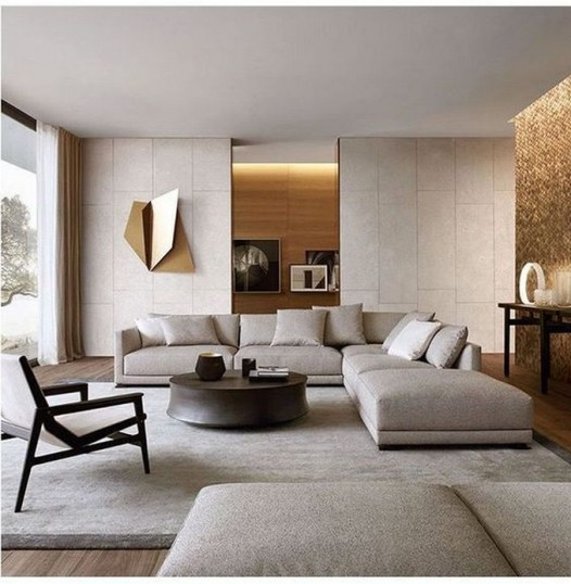 38 Most Popular Modern Living Room Decoration Ideas That Look Comfortable 31