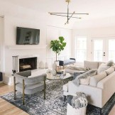 38 Most Popular Modern Living Room Decoration Ideas That Look Comfortable 37