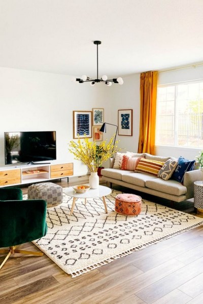 40 Inspiration Ideas Of The Most Popular Modern Living Room Ideas With Easy Tips To Redecorate Your Living Room 15