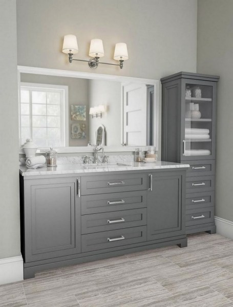 47 Best Master Bathroom Remodeling On A Budget Ideas 18