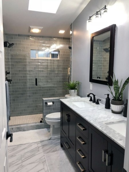 47 Best Master Bathroom Remodeling On A Budget Ideas 2