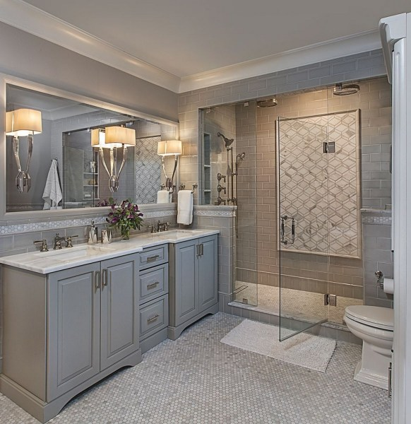 47 Best Master Bathroom Remodeling On A Budget Ideas 27