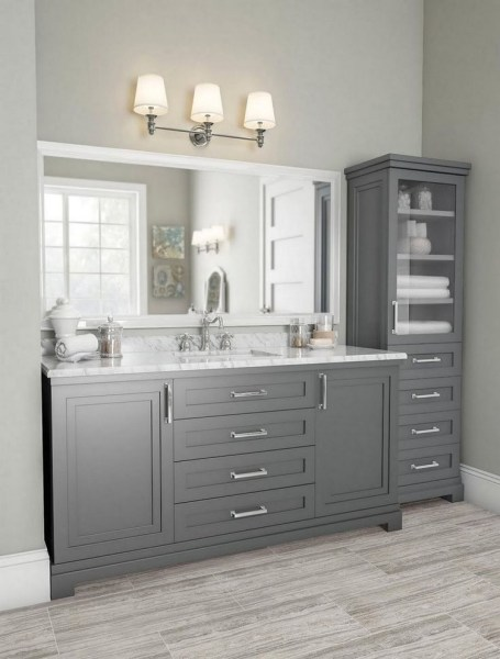 47 Best Master Bathroom Remodeling On A Budget Ideas 43