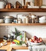 52 Most Popular Kitchen Shelves Ideas For Inspiring Your Kitchen Design 17