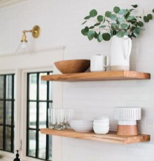 52 Most Popular Kitchen Shelves Ideas For Inspiring Your Kitchen Design 22