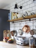 52 Most Popular Kitchen Shelves Ideas For Inspiring Your Kitchen Design 3