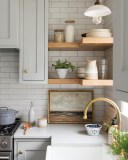 52 Most Popular Kitchen Shelves Ideas For Inspiring Your Kitchen Design 4