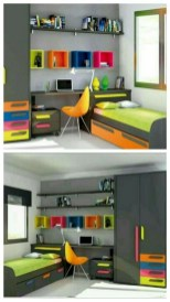 55 Model Bedroom Furniture Design Ideas For Small Functional Spaces 06