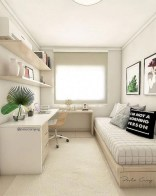 55 Model Bedroom Furniture Design Ideas For Small Functional Spaces 10