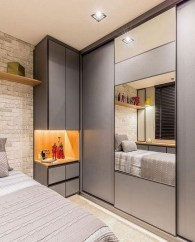 55 Model Bedroom Furniture Design Ideas For Small Functional Spaces 24