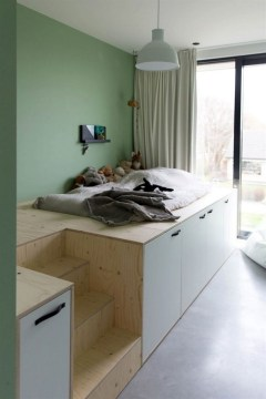 55 Model Bedroom Furniture Design Ideas For Small Functional Spaces 31