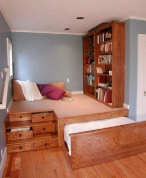 55 Model Bedroom Furniture Design Ideas For Small Functional Spaces 54