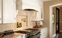 72 Beautiful Kitchen Countertop Ideas With White Cabinets Look Luxurious 41