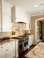 72 Beautiful Kitchen Countertop Ideas with White Cabinets Look Luxurious 2234