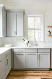 72 Beautiful Kitchen Countertop Ideas with White Cabinets Look Luxurious 2254